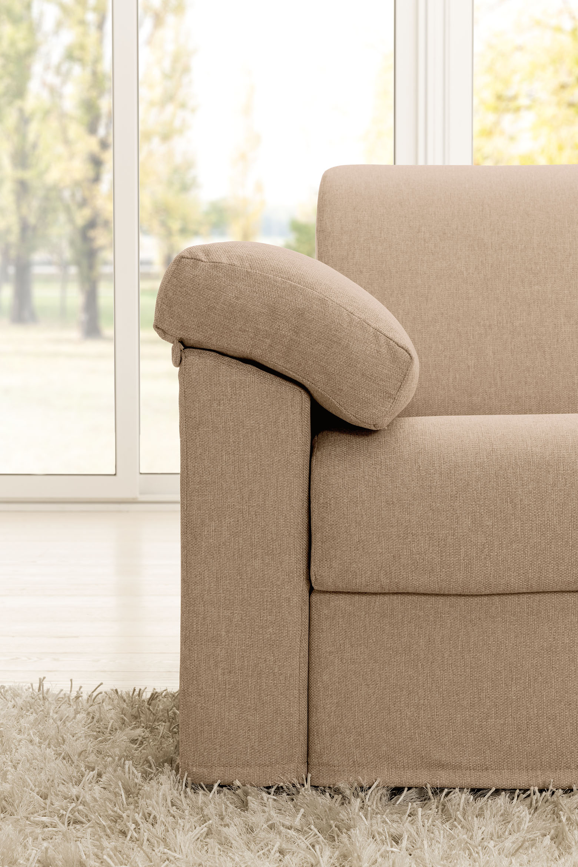 Sedežna garnitura raztegljiva v ležišče Happy