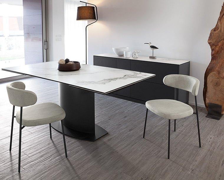 Kovinski stol Anais
