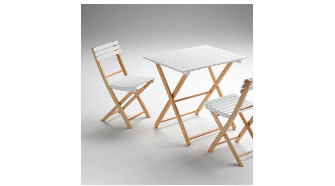 Zložljiv lesen stol ALE