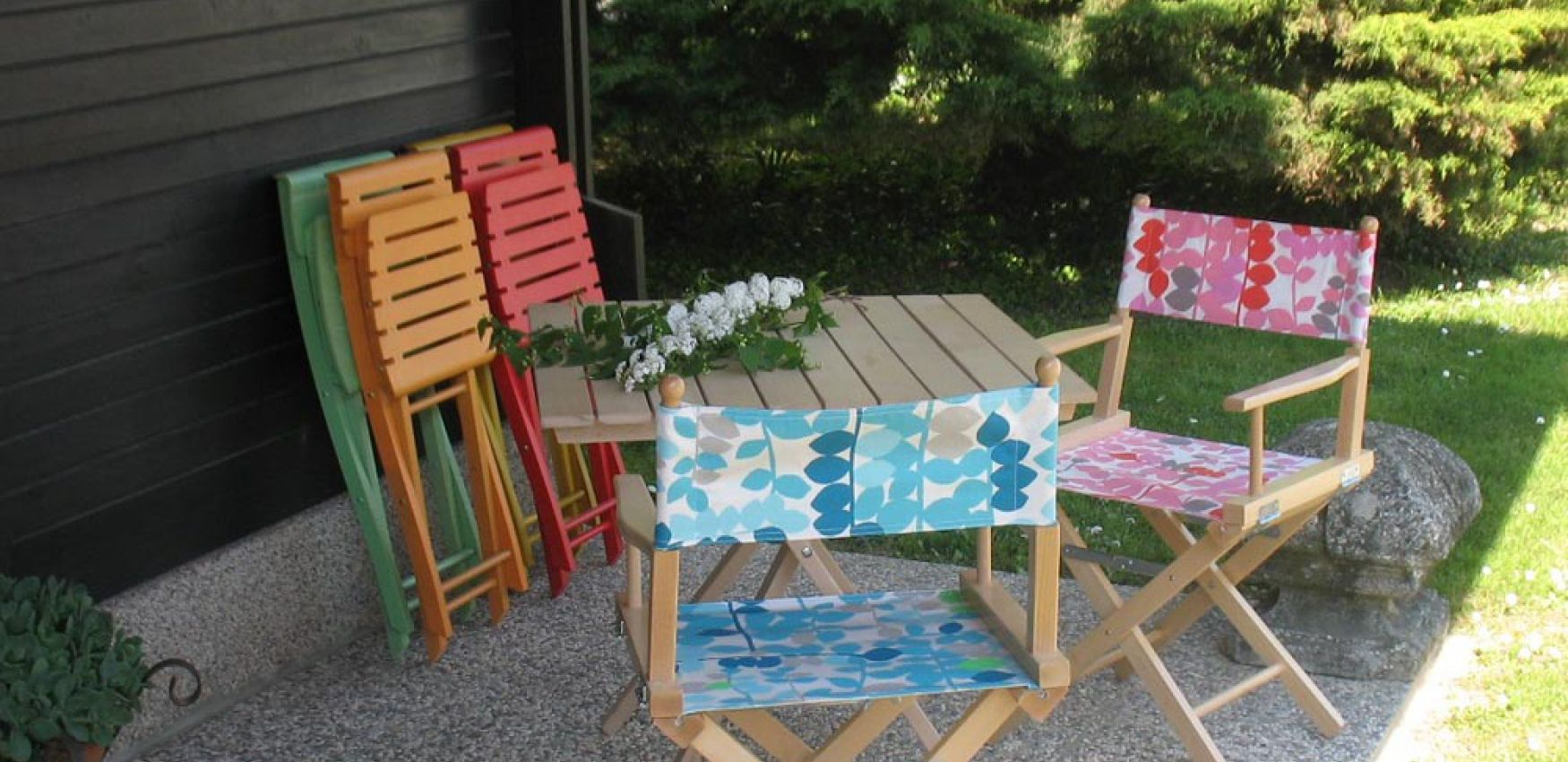 zložljivi stoli